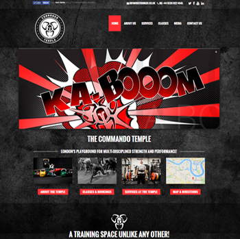 Bestronger Site Screenshot