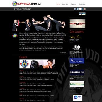 Zutkravmaga Site Snapshot