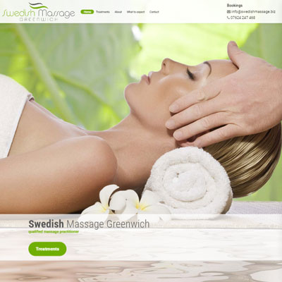 Swedish Massage Greenwich