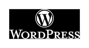 WordPress Logotype Alternative White