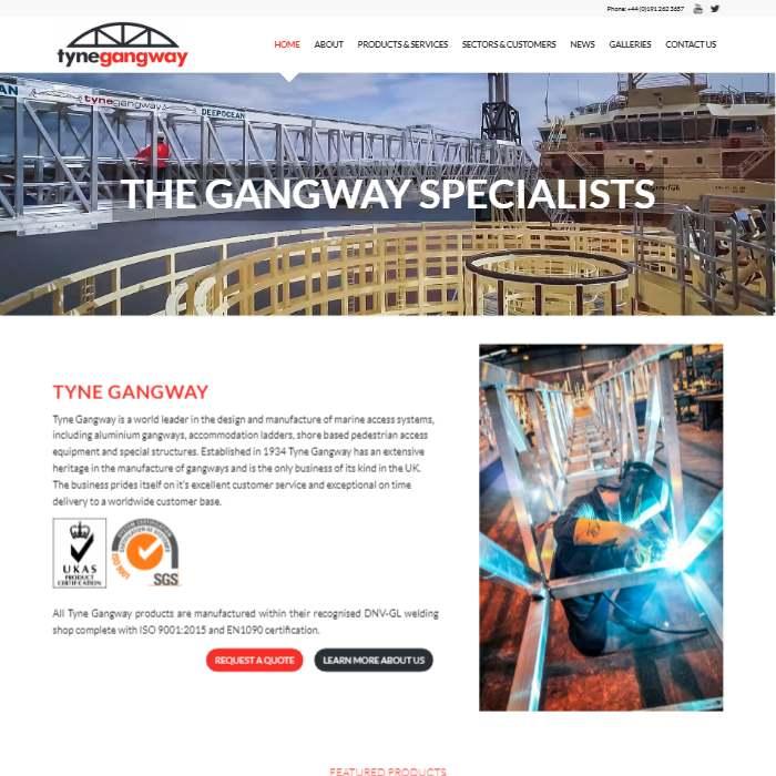 Tyne Gangway by Webworks