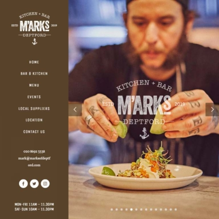 Marksofdeptford Com Website Design By Webworks