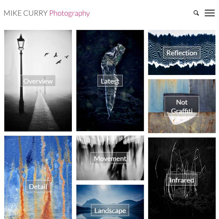 Mikecurryphotography Com Website Design By Webworks