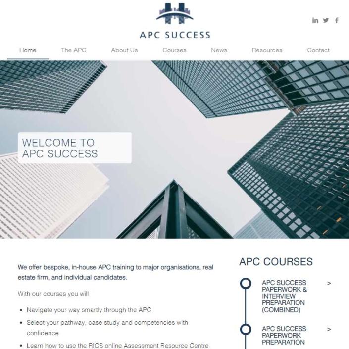 APC Success Web Design Webworks UK